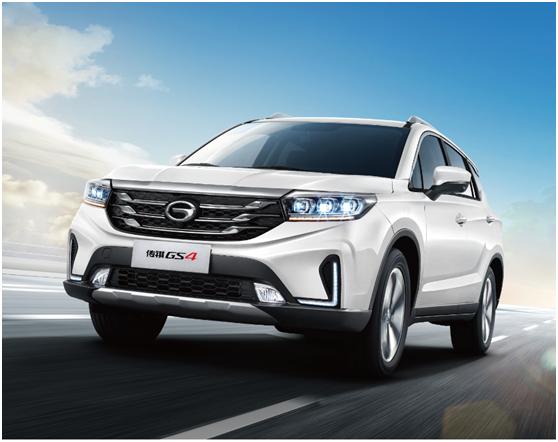 全新祺云概念SUV  传祺GS4   延边上市发布了!
