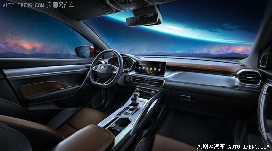 吉利SX11内饰官图曝光 全新SUV/科技感爆棚