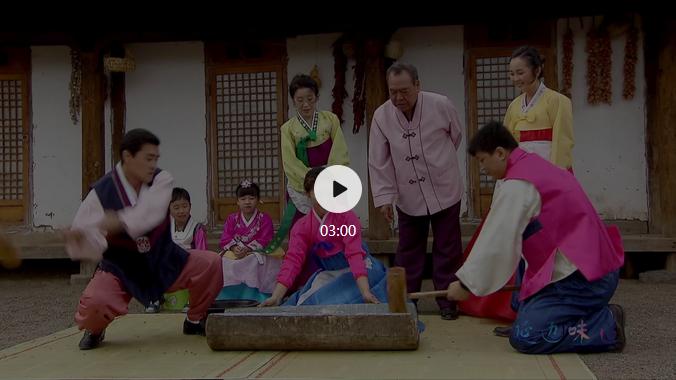 【视频】美丽中国·鲜到延边!传统打糕,绵软香甜!